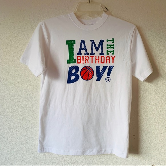 Birthday Boy Tee Shirt